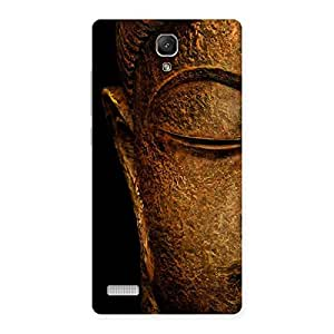 Delighted Lord Buddha Multicolor Back Case Cover for Redmi Note
