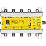 TechniSat 0000/3287 Technirouter 5/1 x 4 digitale Einkabellösung für 4 Teilnehmer