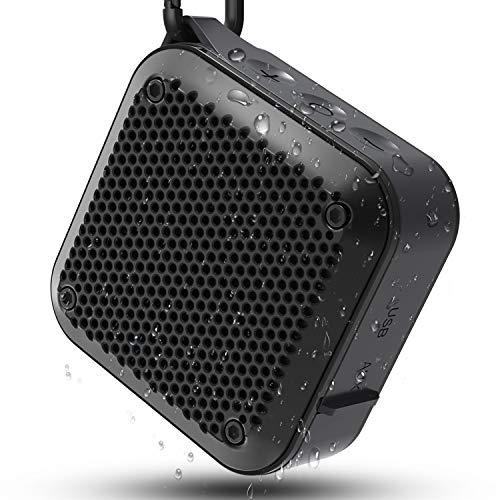 Cassa Bluetooth Portatile, MIROCOO TWS Cassa Bluetooth Waterproof IPX7, Altoparlante Speaker Bluetooth Portatili 5.0 Esterno, 12 ore di Riproduzione e Microfono Incorporato, Supporto TF Card e Aux-In