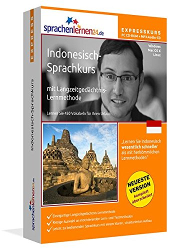 Sprachenlernen24.de Indonesisch-Express-Sprachkurs PC CD-ROM für Windows/Linux/Mac OS X +...