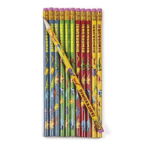 r Dino Bleistifte mit Radiergummi als Mitgebsel 12 Stück Gastgeschenk Palandi® ()