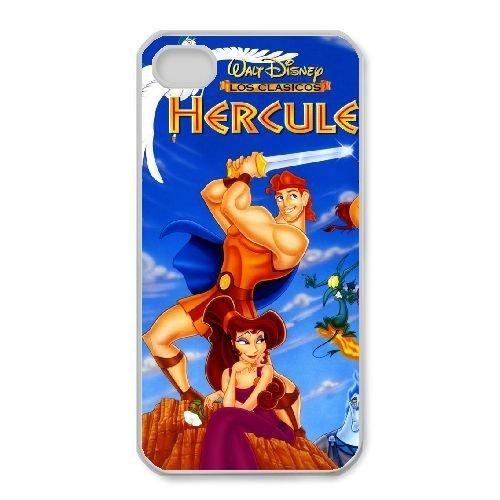 iphone4 4s White phone case Disney Cartoon Comic Series Hercules QBC3083304