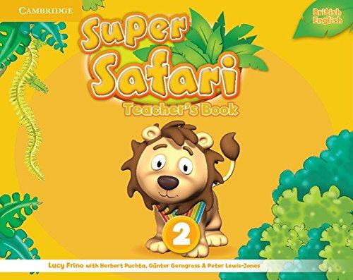 Super Safari Level 2 Teacher's Book (Super Minds) - 9781107476905