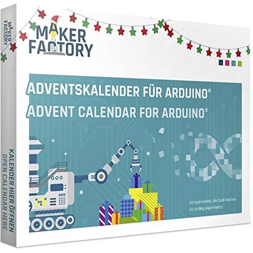 MAKERFACTORY Adventskalender für Arduino® ab 14 Jahre 2019