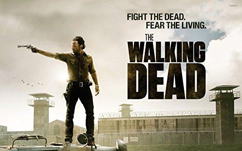 (Dynamo Printing Ltd Rick Grimes The Walking Dead Zitat Horror Poster (A0(1189x 841mm)))