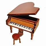 bo?te ¨¤ musique en bois de Piano antique et classique joue la musique de Voyage du Chihiro, couleurs diff¨¦rentes disponibles (blanc)