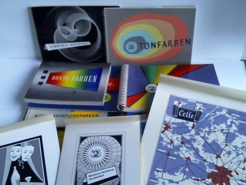 Sammlung von 209 Druckvorlagen