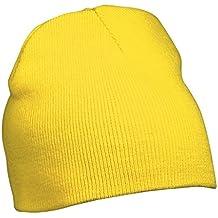 Myrtle Beach - Gorro para mujer color amarillo talla Einheitsgrösse