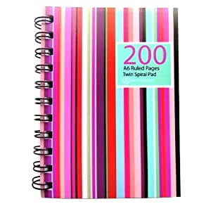 cahier spirale a5 400 page