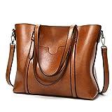 ALARION Damen Handtaschen Schultertasche große Tote Shopper Taschen Henkeltasche Umhängetasche Schulterbeutel