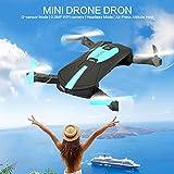 Eleganantamazing - Cámara Plegable para Selfie Drone Four Axis...