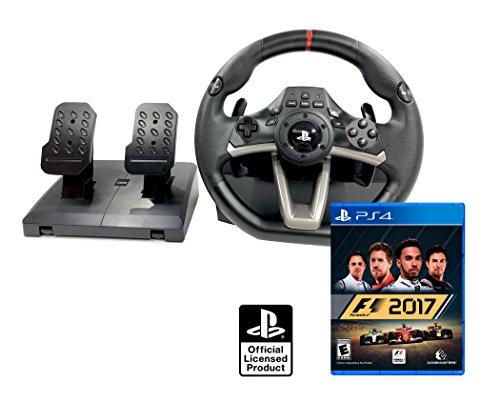 PS4 Lenkrad und Pedale Orig. Licensed PlayStation 4 RWA Apex + Formula 1 2017 - F1 2017