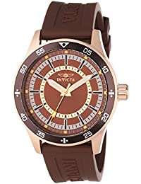 (CERTIFIED REFURBISHED) Invicta Specialty Analog Brown Dial Men's Watch - 14335