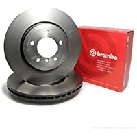 Brembo 09518030 Disco de Freno, Set de 2