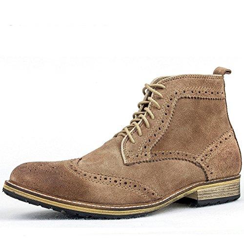 Autunno/inverno stivali stivali uomo/ casual scamosciato stivali intagliato/ avvio dell'Inghilterra/Lavorazione