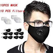 6 PCS Anti Pollution Cover Unisex Outdoor N-95 Non Woven Fabric Dust Cover +13 PCS INNER