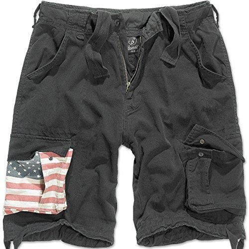 Brandit Urban Legend Short Stars&Stripes Black 6XL