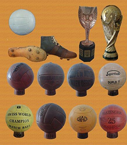 COLECCION BALONES MUNDIALES FUTBOL 1930-1966 (PRE ADIDAS)