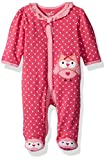 Best Beginnings Babies - Best Beginnings Baby Girls' Printed Footie, Pink/Multi, 9M Review