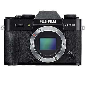 Fujifilm X-T10 Compact System Camera (16 MP, CMOS Sensor) - Black