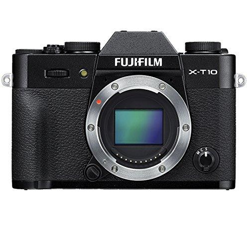 Fujifilm X-T10 Fotocamera Digitale, Nero