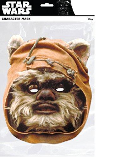 Preisvergleich Produktbild Generique - Star Wars-Pappmaske Ewok braun