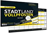 DENKRIESEN Stadt Land Vollpfosten - Do it Yourself-Edition - Stadt