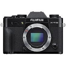 "Fujifilm X-T10 - Cuerpo de cámara EVIL de 16 MP (pantalla de 3"", LCD, 1080 p FHD, CMOS II, montura X), color negro"