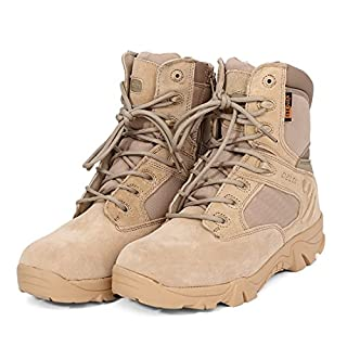 AngeleKerry Tactical Security Einsatzstiefel Boot - Khaki/37.5 EU