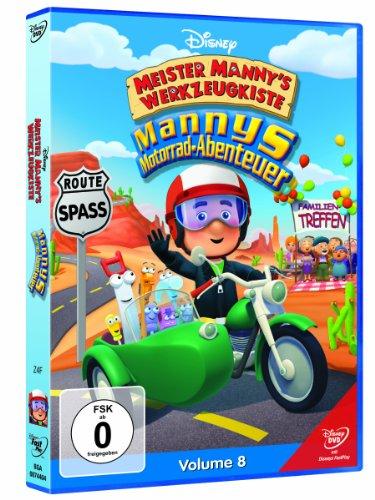Meister Mannys Werkzeugkiste - Meister Mannys Motorrad-Abenteuer