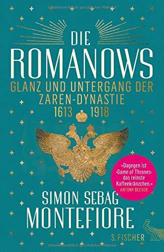Buchseite und Rezensionen zu 'Die Romanows: Glanz und Untergang der Zarendynastie 1613-1918' von Simon Sebag Montefiore