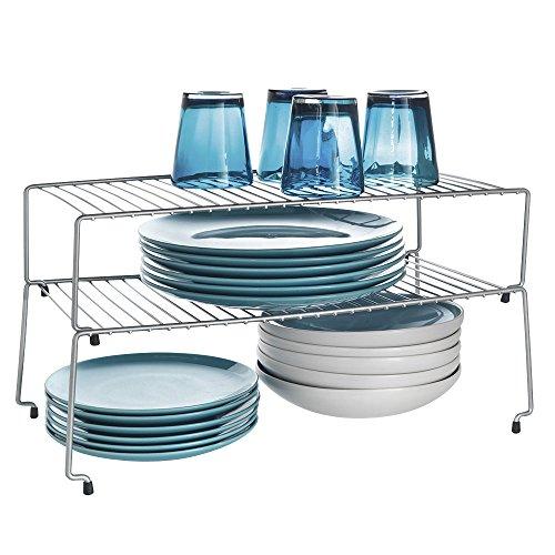 Metaltex Sky - Juego de 2 estantes apilables para armarios de cocina 352c5901fec6
