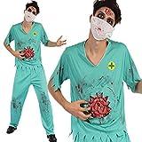 Unbekannt Zombie Chirurg Kostüm + angenäht Darm Detail