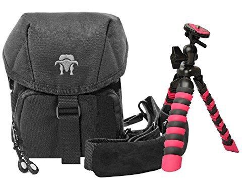 Foto Kamera Tasche SOUTHBULL CAMP S mit Regencape Set mit Reise Stativ Rollei 100 für Sony HX400 H400 RX10 Alpha 6300 6000 5100 5000