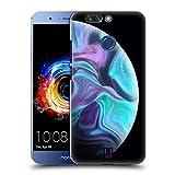 Head Case Designs Acquamarine Acryl Giessende Planeten Ruckseite Hülle für Huawei Honor 8 Pro