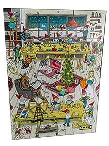 ikea adventskalender 2018 gef llt mit schokolade und inkl 2 ikea aktionskarten. Black Bedroom Furniture Sets. Home Design Ideas