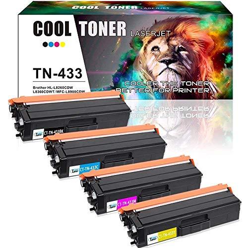 Cool Toner 2 Pack Compatibile per TN-2320 TN2320 TN2310 per TN 2310 Stampante Cartuccia Brother MFC-L2700DW L2720DW L2740DW L2740DW L2700DN DCP-L2540DN L2540DN L2500D HL-L2365DW L2740DW L2340DW L2360