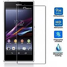 Protector de Pantalla para Sony Xperia Z1 Cristal Vidrio Templado Premium, Electrónica Rey®