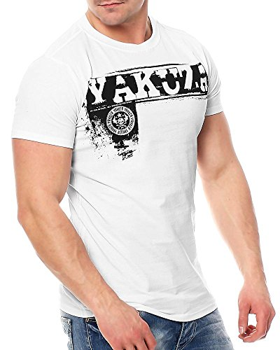 Yakuza Daily Use T-Shirt TSB-7048 Weiß White
