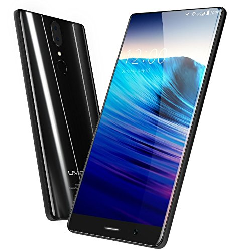 UMIDIGI Crystal - Borderless 5,5 Zoll FHD Bildschirm Android 7.0 Smartphone, Corning Gorilla Glas 4, 1,5 GHz Quad Core 4GB RAM 64GB, Dual-Objektiv Hintere Kamera 5MP + 13MP, (Corning Gorilla Glas Iphone 4)