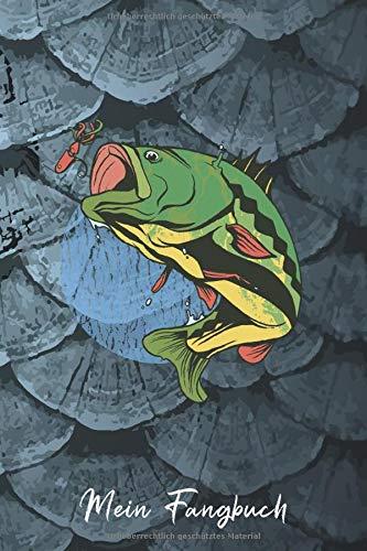 Mein Fangbuch: Angler Barsch - Angeln Fische • Angelbuch • Fangbuch zum ausfüllen + BONUS Spruchsammlung • 120 Seiten (DIN A5/15x22cm) Glanz Cover • ... Fänge, Fischart, Köder, Angeln Logbuch