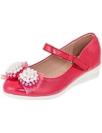 3ab0ddb55a64ae Hello Coccinelli Festliche Mädchen Ballerina Pumps Schuhe mit Keilabsatz
