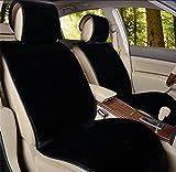 GAOFEI Coperte di seduta in pelle di pecora Copertura antisdrucciolo in pile morbido in peluche per la maggior parte delle auto, camion, SUV o van