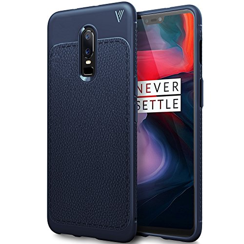 Cover Oneplus 6, Oneplus 6 Case, iBetter Oneplus 6 Protective Case, Durable Protection, Exact Compatibility for the Oneplus 6 Smartphone. (Blue)