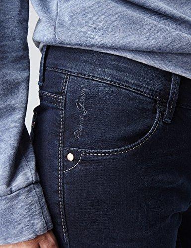 Pioneer Damen Straight Jeans Sally Blau (Blue Black Dark Used With Buffies 446)