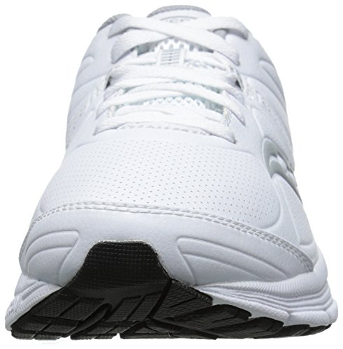 Saucony Men's Grid Momentum Walking Shoe White/Grey