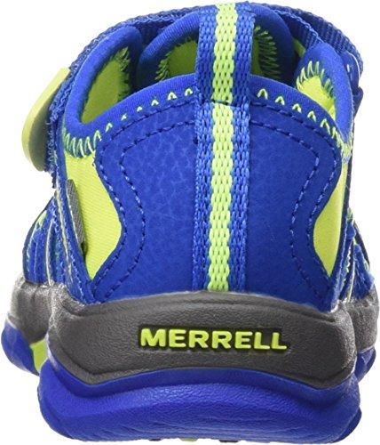 Merrell Jungen Hydro Aqua Schuhe Mehrfarbig (Blue/Citron)