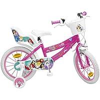 "Pik & Roll Princesa Bicicleta niña–16""–Rosa"