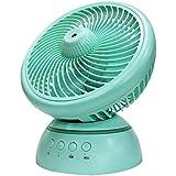 CivilWeaEU Ventilateur de bureau / Ventilateur / dortoir d'étudiants Ventilateur électrique portatif portable rechargeable USB / Tablette de bureau Ventilateur électrique silencieux ( Couleur : Bleu )