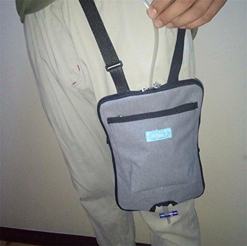 MEYLEE Inkontinenz-Kit mit Katheter Urin - Blase Kontrollgeräte für Patienten und ältere Menschen - Oblique Rucksack Feste Gürtel -